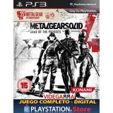 Metal Gear Solid 4: Guns Of The Patriots - Playstation 3