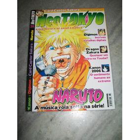 Revista Neo Tokyo Nº 36 - Naruto, Sakura, Digimon,