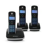 Telefone S/fio Auri 3500 + 2 Ramais C/ Viva Voz Visor Ilumin