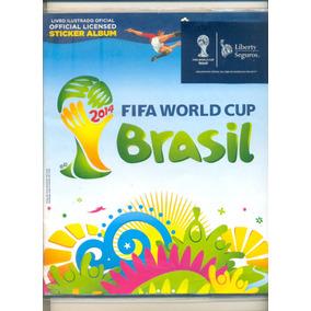 *sll* Álbum Copa Do Mundo 2014 - Futebol - Completo