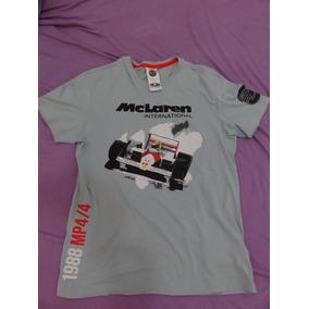 Raridade Camisa Mclaren Hunziker 50 Anos F1 - M - Senna   957ae85eb40