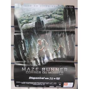 Poster Maze Runner - Correr Ou Morrer - 64 X 94