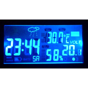 39936e3ee57 Voltimetro Relogio Termometro Digital Automotivo - Acessórios para ...