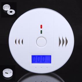 Detector De Incêncio Fumaça Monoxido De Carbono Alarme
