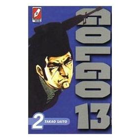 Hq:manga-golgo 13:vol.2-takao Saito-frete Não Incluso