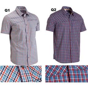 Camisa Xadrez Quechua Inglês Plus Size 100% Original Perry