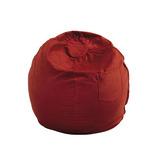 Mobiliario Diversión Grande Beanbag - Red Micro Suede
