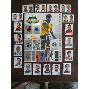 Figurinhas Álbum Campeonato Brasileiro 2014 - Orçam. Mín.