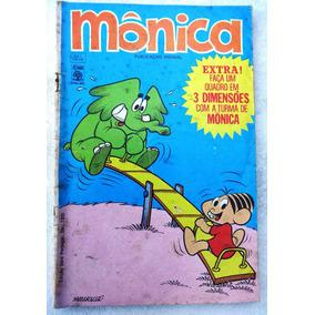 Mônica Nº 7: O Sumiço Do Cascão - Completa Com Encarte -1970
