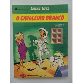 Lucky Luke! O Cavaleiro Branco! Martins Fontes 1985!