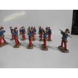 Soldados De Plomo Chilenos 1879 En Formacion