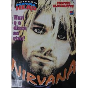 Metal Head Poster Nirvana Kurt Cobain