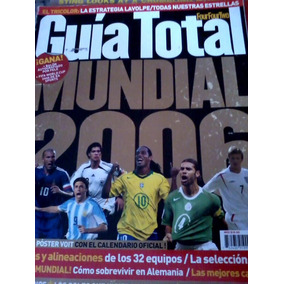Revista Futbol Total Guias en Mercado Libre México 3d6a4af18eb