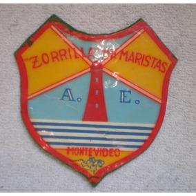 Escudo Colegio Hermanos Maristas Zorrilla De San Martín 1965