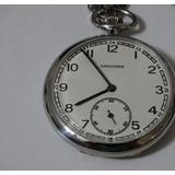 78773995dfc Relógio De Bolso Antigo - Suíço Longines-2 Tampas Assinadas