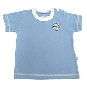 Camiseta Cores Clube Meia Malha Menino Grêmio Reve Dor 9c2e67b227d0d