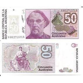 80.013 - Argentina - 50 Australes - Reposição ( R ) - F E