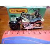 Matchbox N° 50 Moto Harley Davidson Made In England