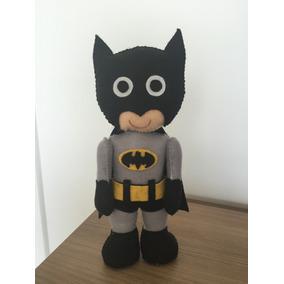 Boneco Batman Em Feltro 55cm Super Herois Dc - Bonecos e Figuras de ... 0505c76ef79