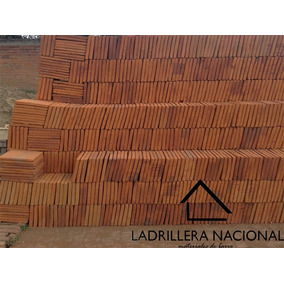 Millar Ladrillo Tabique Rojo Tipo Cuadrado 24x24x2.5cm
