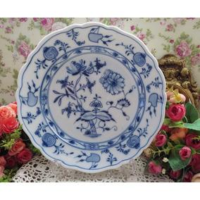 Porcelanas Chá De Anis - Prato, Porcelana Alemã Meissen
