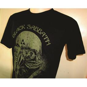 Camisas Black Sabbath - Usadas Pelo Homem De Ferro - Algodão