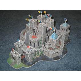 Quebra Cabeça 3d Castelo De Camelot 620 Peças