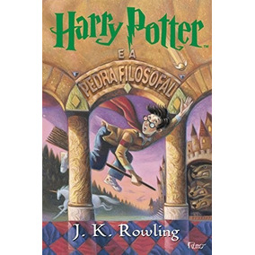 Harry Potter E A Pedra Filosofal Livro J K Rowlng - Frete 8