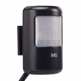 Sensor De Presença Sobrepor Parede Margirius Preto C/fotoc.