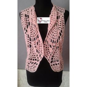 Chalecos Crochet Tejido Hilo Grueso De Algodon - Ropa y Accesorios ... 516ca7bab069