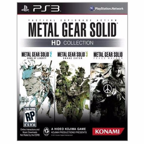 Metal Gear Solid Collection Ps3 Jogo Midia Fisica