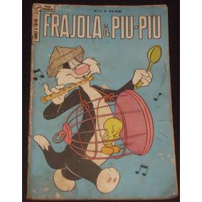 Gibi Frajola & Piu Piu Nº 5 - Ebal - 1963