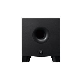 Monitor De Referência Subwoofer Yamaha Hs8s Preto Amplific