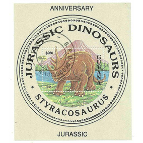 1993 - Guiana - Dinossauro - Estiracossauro - Bloco Novo