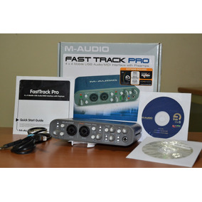 Placa Interface De Audio Fast Track Pro 4x4 Mais Software