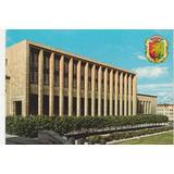 Postal Antigo - Biblioteca Nacional - Bruxelas - Bélgica F19