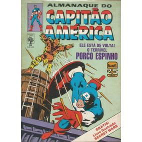 Capitao America 86 Sem O Album - Abril - Bonellihq Cx15 C19