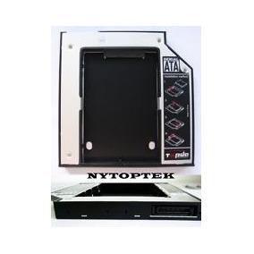 Caddy Segundo Disco Notebook Hdd Sata Ssd Pata A Sata 12,7mm