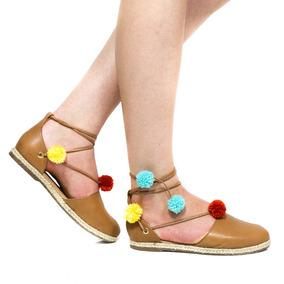 Sandália Zariff Shoes Espadrille Feminino 234-025   Zariff