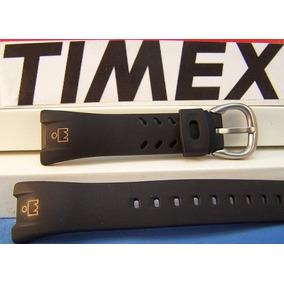 Pulseira Timex T53331, T53952 Ironman Preta Boneco Laranja