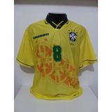 Camisa Da Seleção Brasileira De 1994 Dunga 8 no Mercado Livre Brasil e8338887b9e54