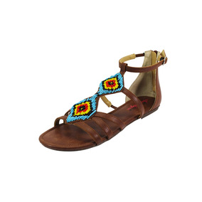 Sandalias De Gladiador American Rag Sintético Marrón P/mujer