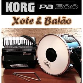 Ritmos Korg Pa500 - Xote & Baião E Arrasta Pé
