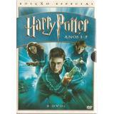 Dvd Harry Potter Anos 1 - 5 - Original Lacrado 6 Discos