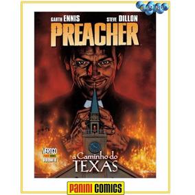 Preacher - A Caminho Do Texas - Volume 1 Capa Dura - Lacrado