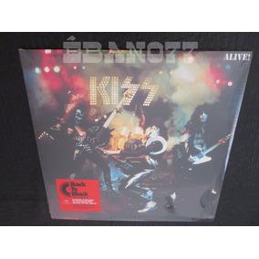 Kiss : Alive! Lp Vinil 180g Remaster + Encarte + Bônus Raro