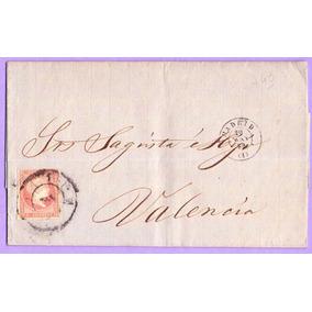 Carta De España Circulada A Valencia - Ldc 76