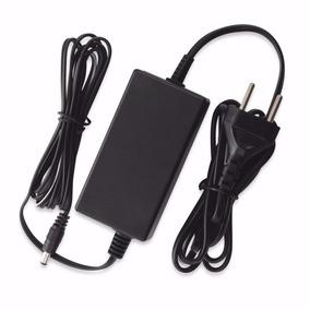 Fonte 12v 5a Bivolt- Preta 5 Amperes - Plug P4