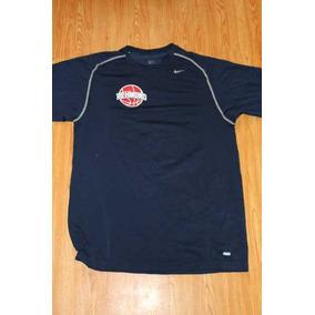 Playera Nike Pro Dri Fit Azul Marino Talla Xxl