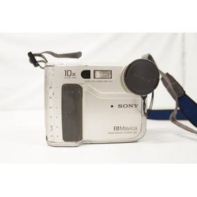 Camera Digital Sony Mavica Mvc Fd-75 + Bateria /carregador!